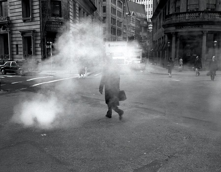 Walking through Steam